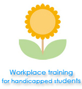 Workplace training for handicapped students