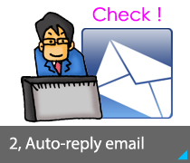 2, Auto-reply email
