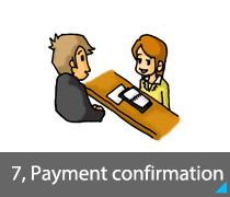 7, Payment confirmation